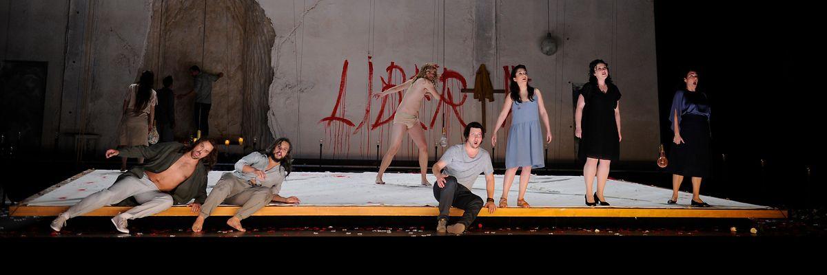 Un opéra résolument contemporain.