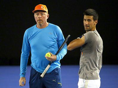 Novak Djokovic und Boris Becker gehen in Zukunft getrennte Wege.