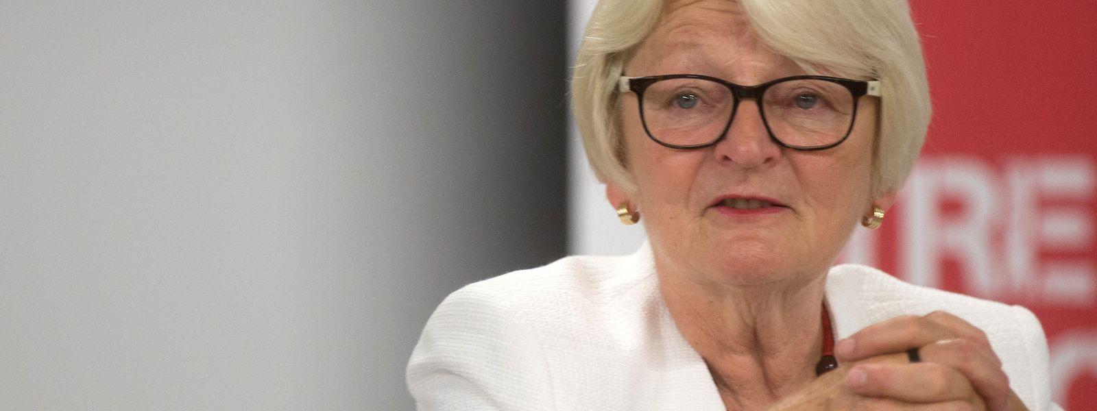Marie-Josée Jacobs, ex-ministre CSV, s'est retirée de la scène politique en 2013 et préside Caritas Luxembourg depuis.