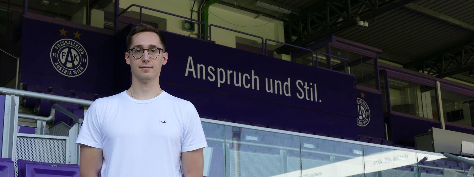 Pit Edinger ist Leiter der Scoutingabteilung von Austria Wien.