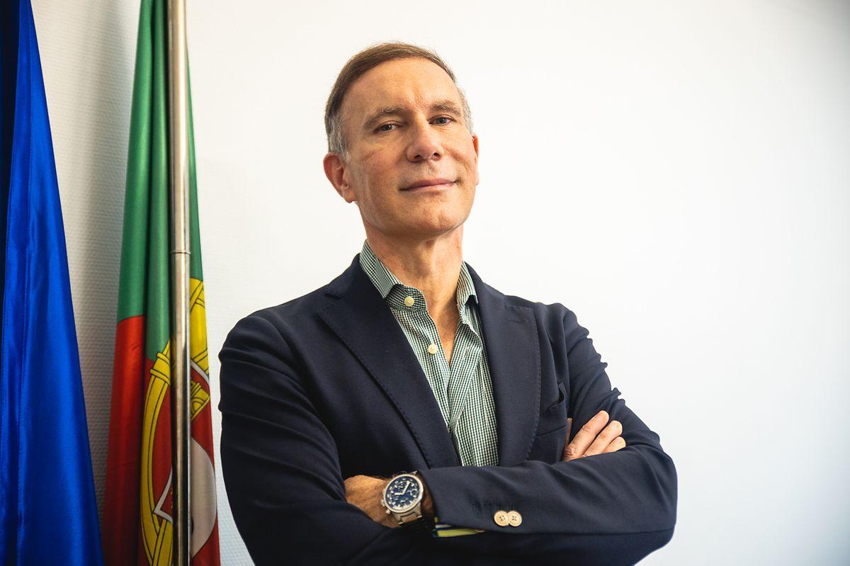 Manuel Gomes Samuel, cônsul de Portugal no Luxemburgo.
