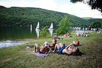 Baden im See - Stausee - Sommer - Photo : Pierre Matgé