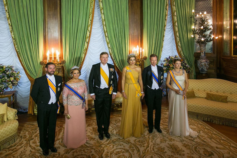 Galadinner im großherzoglichen Palast