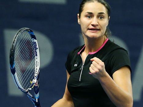 Monica Niculescu was a sensation at Kockelscheuer in Luxembourg