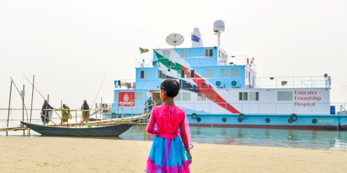 Die Klinikschiffe von Bangladesh fahren mit Luxemburger Unterstützung.
