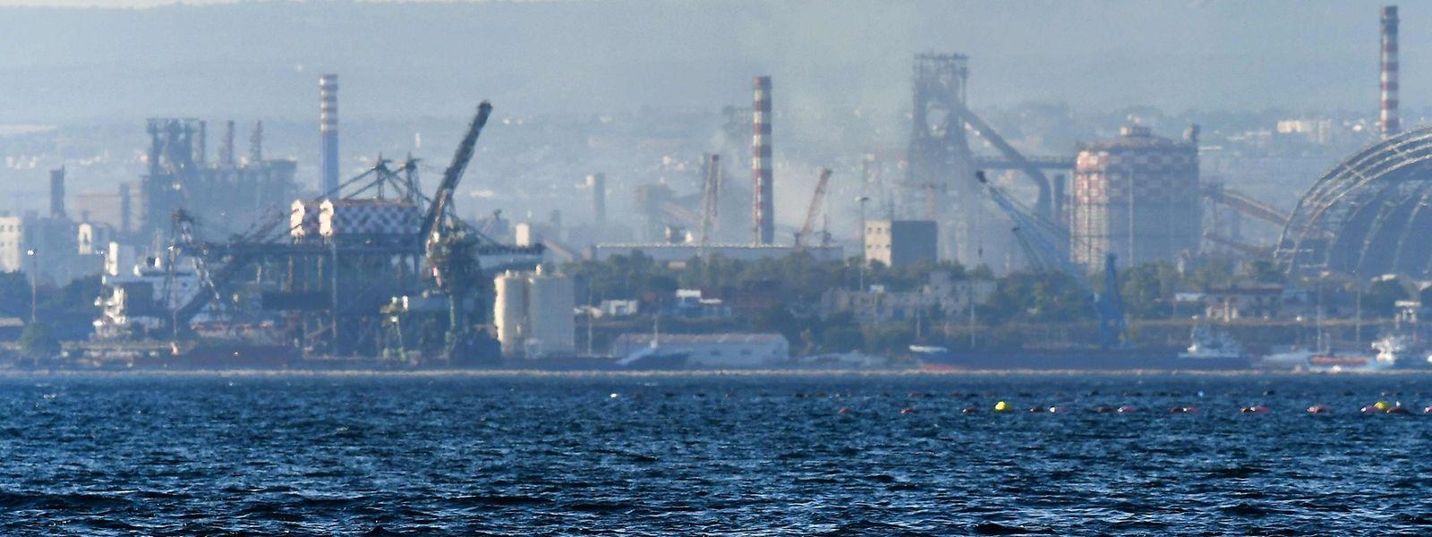 Ilva, das größte Stahlwerk Europas, hat massive Umweltprobleme.