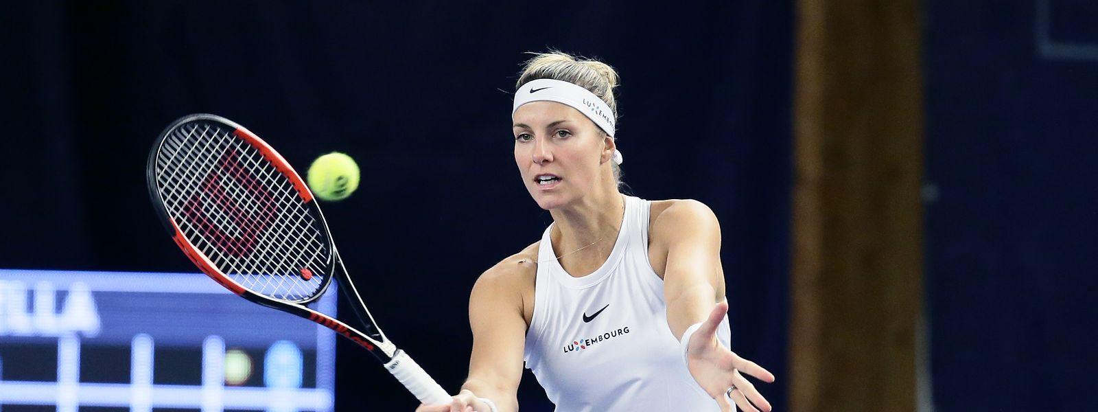 La dernière victoire de Mandy Minella en finale remontait au tournoi de Pétange l'année dernière.