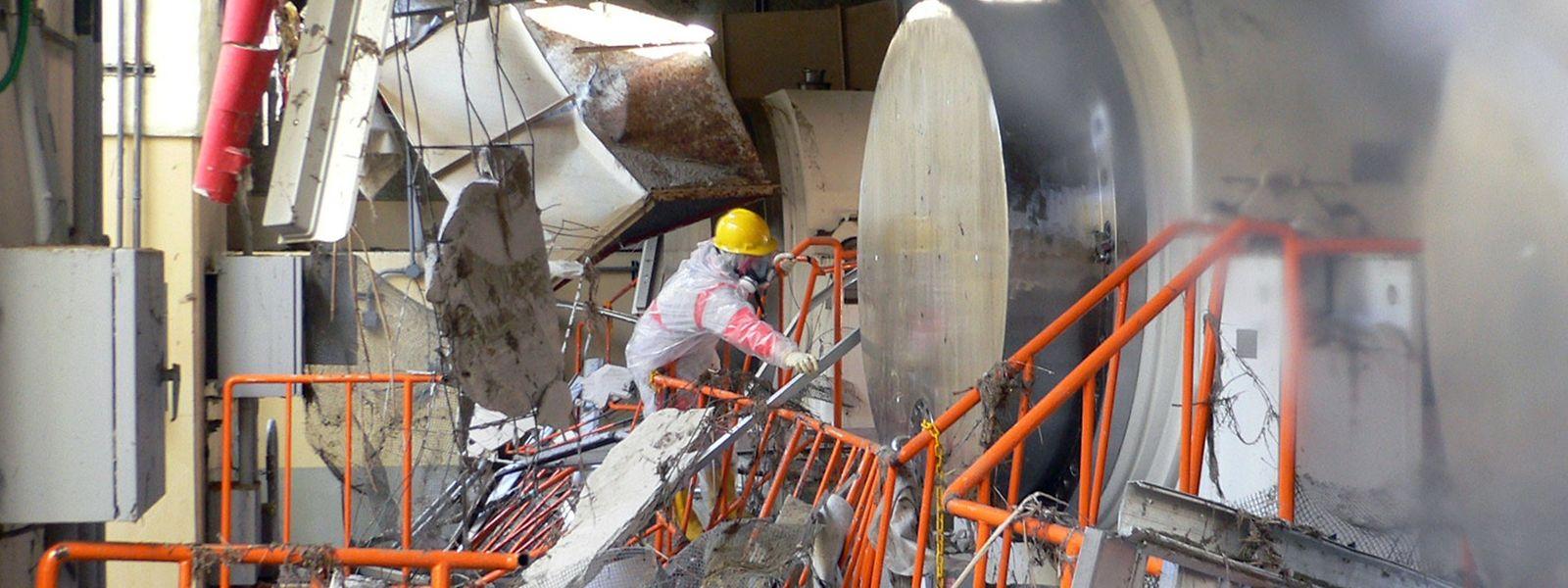 En 2011, la centrale nucléaire japonaise ne résistait pas à un tsunami.