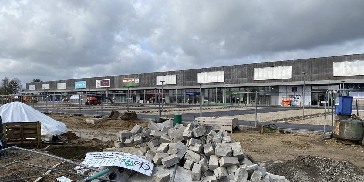 Le nouveau centre commercial regroupera quatorze enseignes.