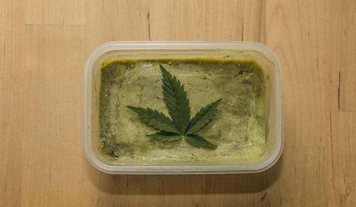 Le beurre de cannabis est la forme la plus utilisée pour les malades débutants avec le chanvre médical.
