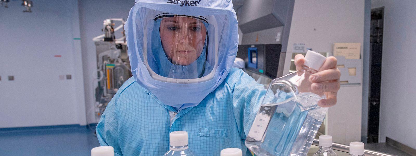 A l'heure actuelle, le laboratoire allemand entame la dernière phase des essais cliniques de son vaccin, incluant les nouveaux variants.