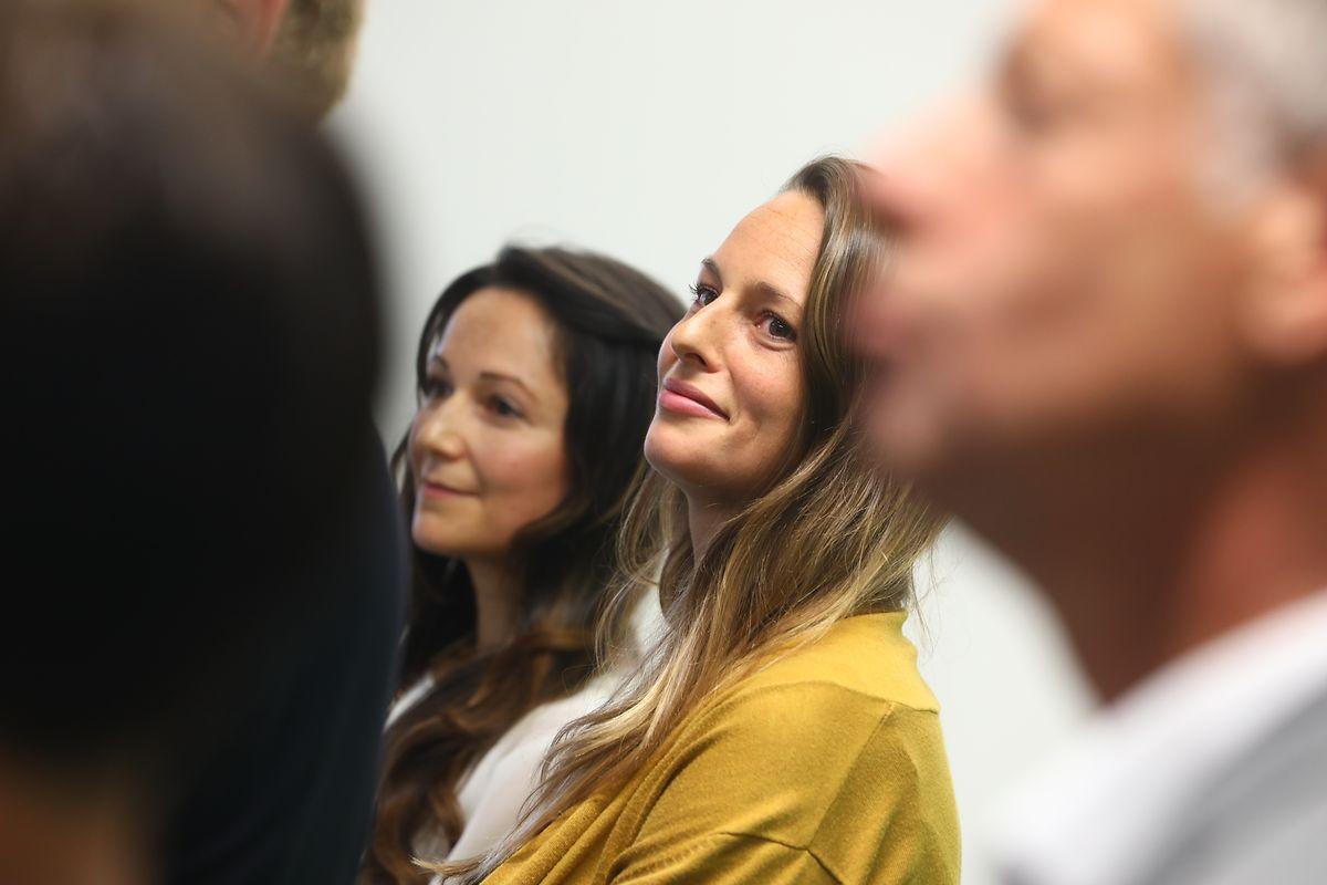 Le départ de Henri Kox pour le gouvernement, propulse Chantal Gary (au centre de la photo) à la Chambre des députés pour prendre le siège laissé vide. A ses côtés, Semiray Ahmedova qui remplace Roberto Traversini à la Chambre.