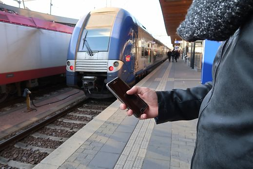 Les frontaliers sont nombreux à utiliser les réseaux sociaux pour s'informer du trafic ferroviaire.