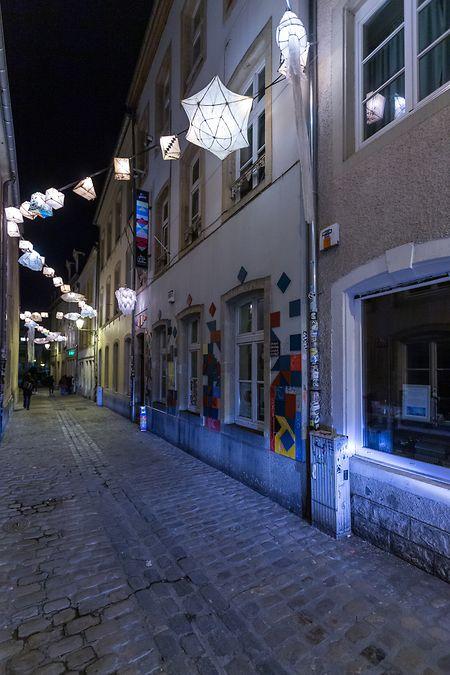 """Seit fünf Jahren in der Rue du Saint-Esprit, aber schon länger ein Musicclub: """"De Gudde Wëllen"""" hatte unter anderem mit den """"d:cliq"""" einen Vorläufer, der sich an gleicher Stelle schon stark für die Musik einsetzte."""