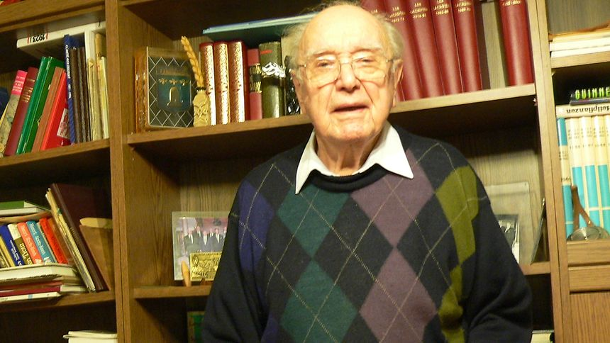 """Gaston Junck kehrte im Mai 1945 als einer der ersten """"Tambower"""" zurück in die Heimat."""