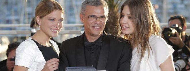 Que amigos que eles eram em Cannes, mas o verniz estalou