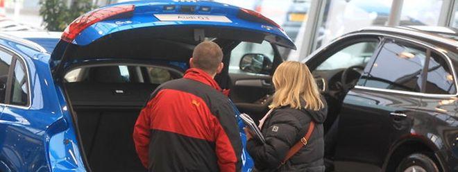 In Luxemburg stieg die Zahl der Pkw-Neuzulassungen im März 2015 auf 4868.