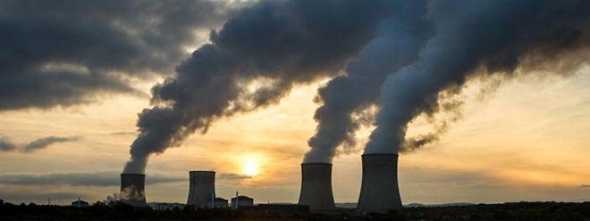La centrale nucléaire Cattenom (octobre 2015).