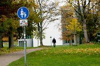 15.11.2019, Nordrhein-Westfalen, Gelsenkirchen: Das Foto zeigt den Eingangsbereich des Wissenschaftsparkes, in dem eine 13-jährige Schülerin von einem Unbekannten mit einem Messer bedroht wurde. Der Unbekannte holte eine Spritze hervor und verabreichte dem Mädchen eine unbekannte Substanz. Foto: Roland Weihrauch/dpa +++ dpa-Bildfunk +++