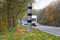 Die neue Anlage zwingt Autofahrer dazu, sich drei Minuten lang an die Geschwindigkeitsbegrenzung zu halten.