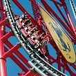 Le Red Force, l'attraction phare de Ferrari Land à Port Aventura