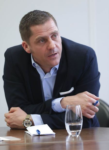 Laurent Mertz est le secrétaire général de l'Aleba.