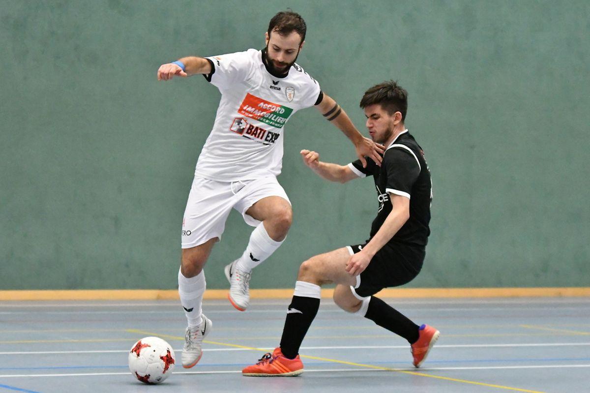 Tiago Carvalho, auteur pourtant de cinq buts pour l'Union Titus Pétange, a été battu par Hugo Alfonso et le FC Nordstad qui a cédé la lanterne rouge aux Pétangeois.