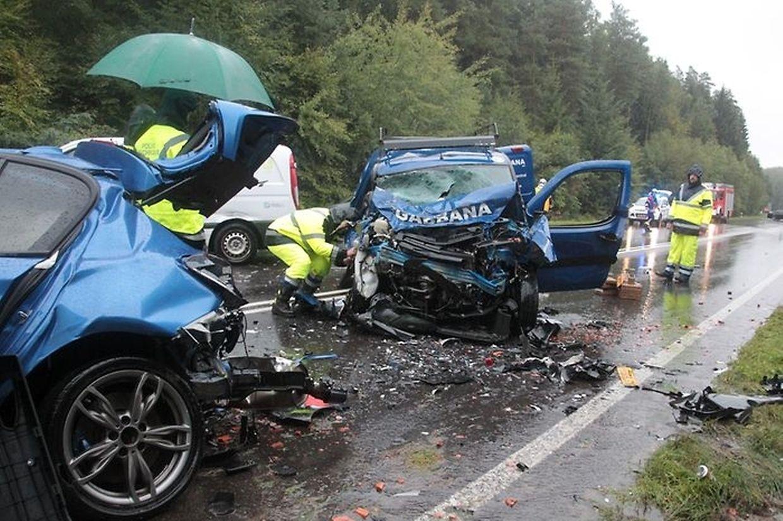 Die Unfallschäden waren ernorm.