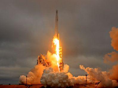 Die SpaceX-Raumfähre war am Sonntag erfolgreich von Cape Canaveral gestartet.