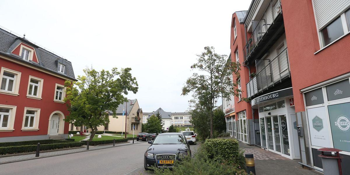 """Der Ortskern von Steinsel soll zum """"Shared Space"""" umgestaltet werden."""