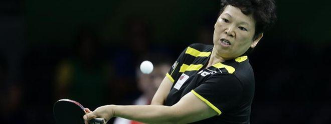 Ni Xia Lian wird nicht in Antibes an der Tischtennisplatte stehen.