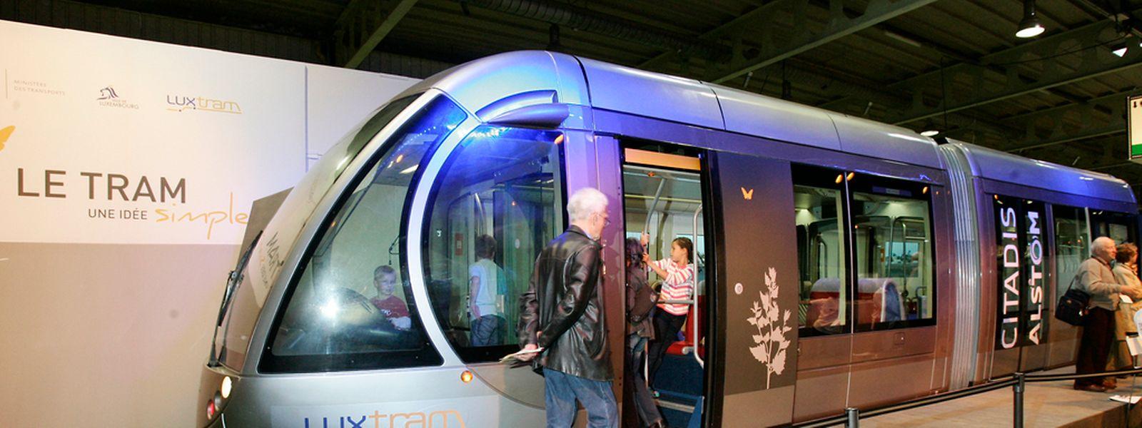Ab 2017 soll die erste Teilstrecke der Tram fertig sein.