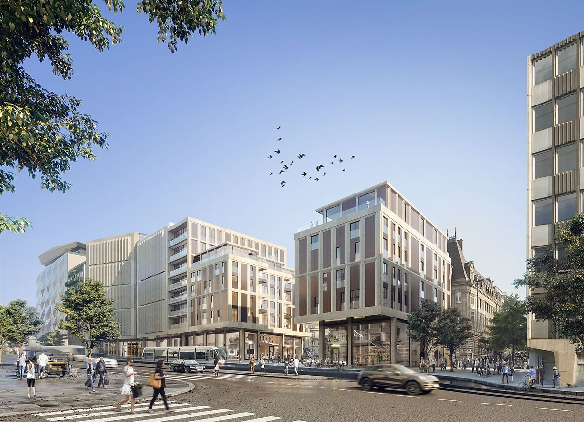 The complex will include housing, offices and commercial units (Codic)