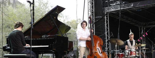 Une grande première pour les trois musiciens luxembourgeois.