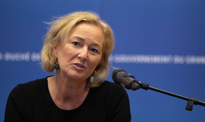 Luxembourg Health Minister Paulette Lenert