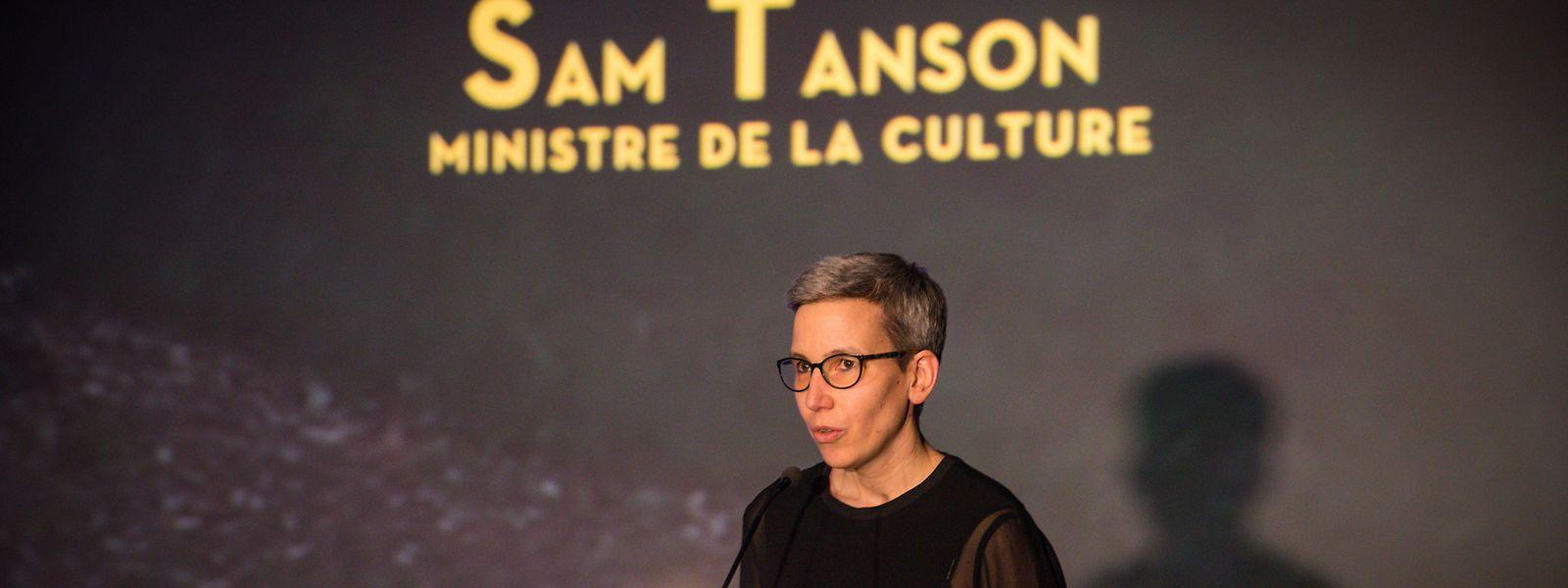 Kulturministerin Sam Tanson sieht Handlungsbedarf bei den oft schwierigen Einkommensverhältnissen von Künstlern in Zeiten der Krise.