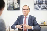 Der China-Experte Robert Scharfe ist seit 2012 Geschäftsführer der Luxemburger Börse.