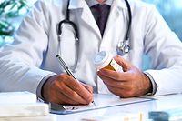 Arzt, Rezept, Medikament
