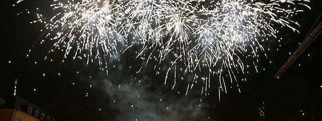 Das Feuerwerk wird um 23.30 Uhr gezündet.