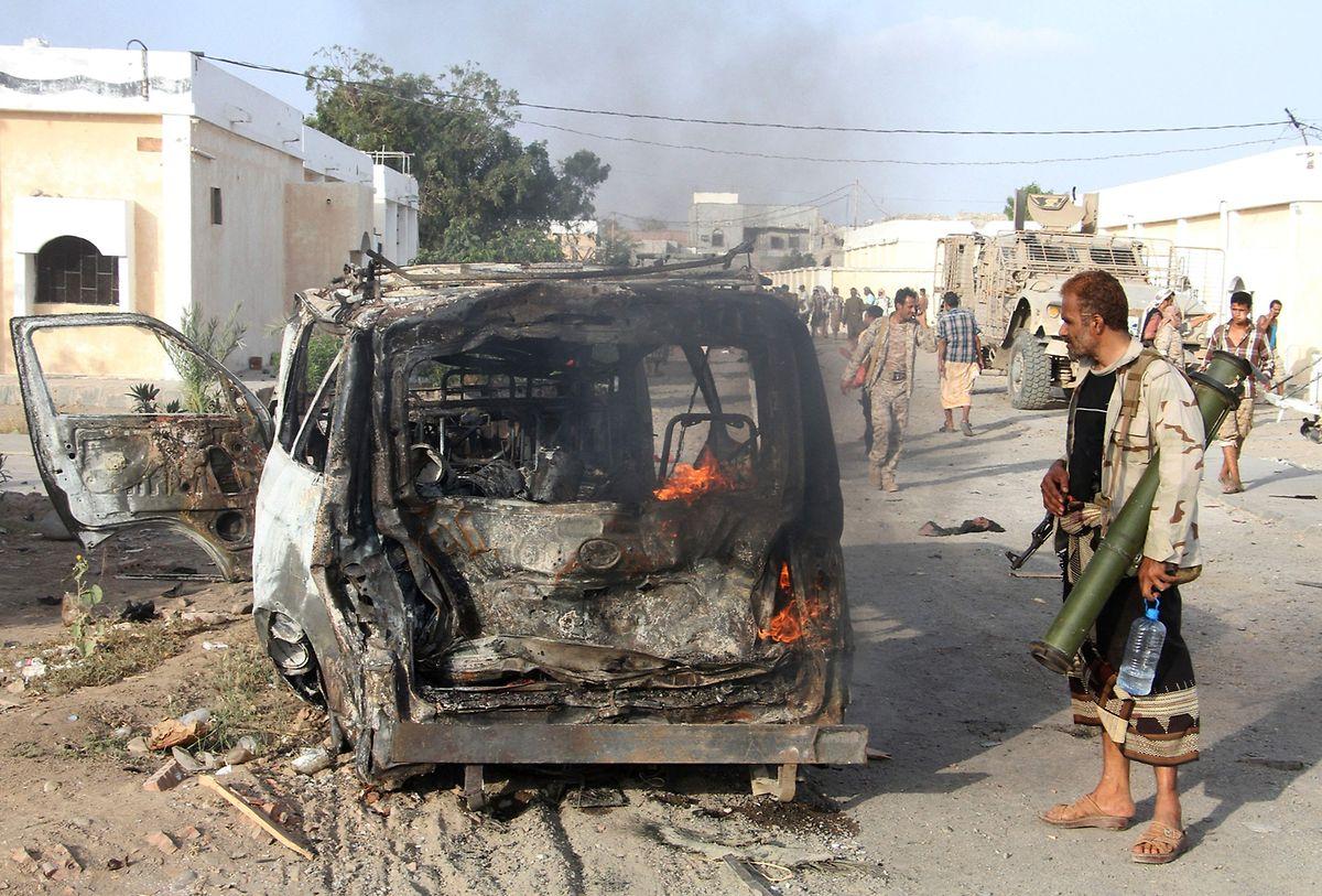 Beispiel Jemen: Infolge des Bürgerkrieges sind viele Versorgungswege nicht länger passierbar.
