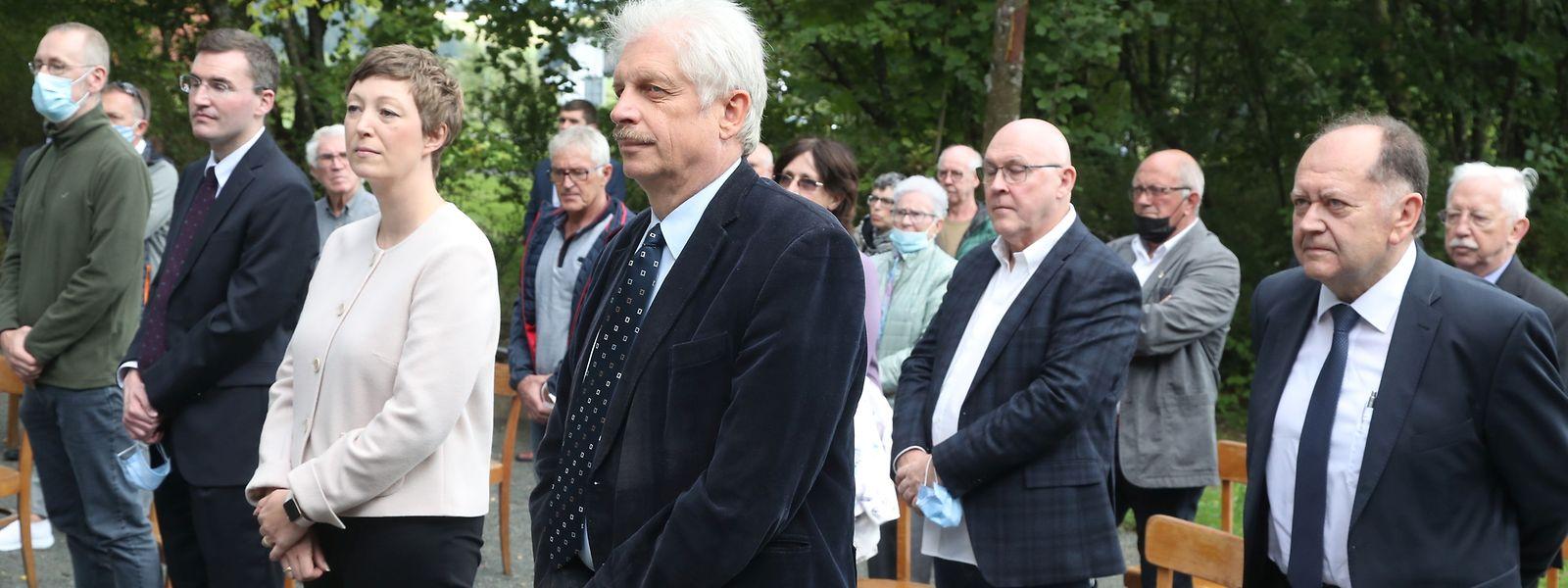Mit einer Messe auf dem Gelände des ehemaligen SS-Sonderlagers wurde an die Opfer des Naziterrors erinnert.