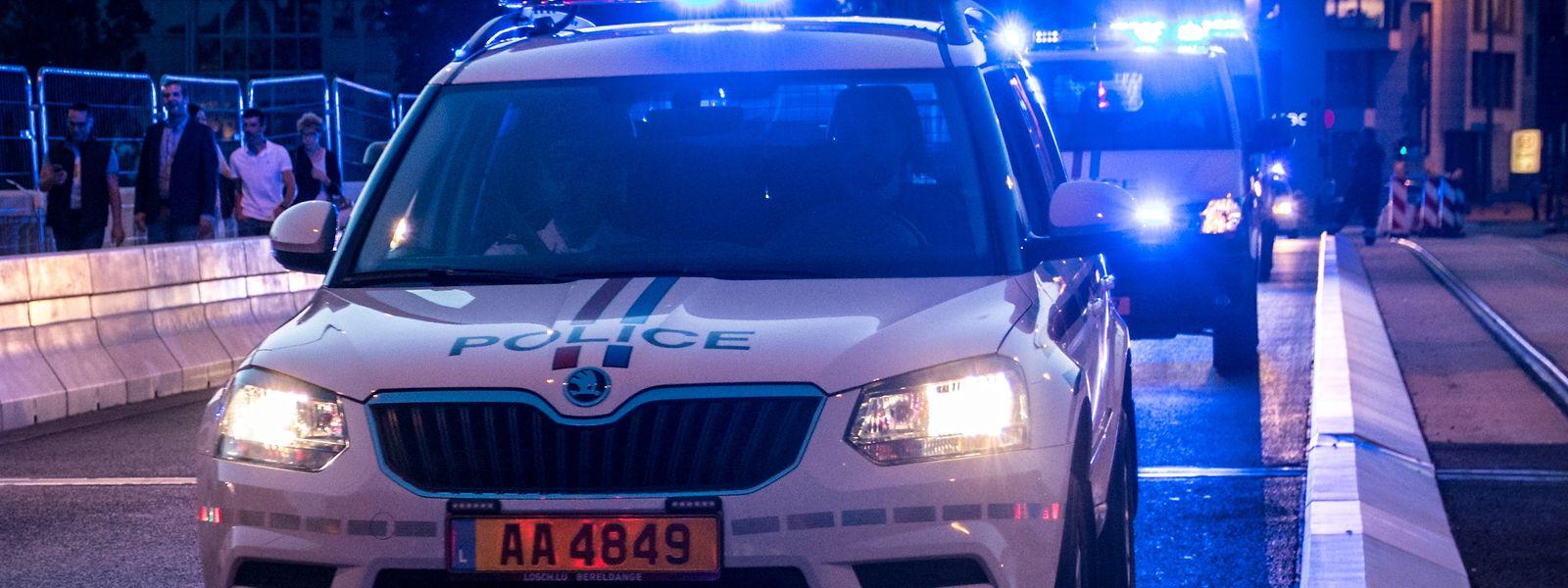 Bei den fünf Zwischenfällen war die Polizei im Einsatz und nahm das Geschehen zu Protokoll.
