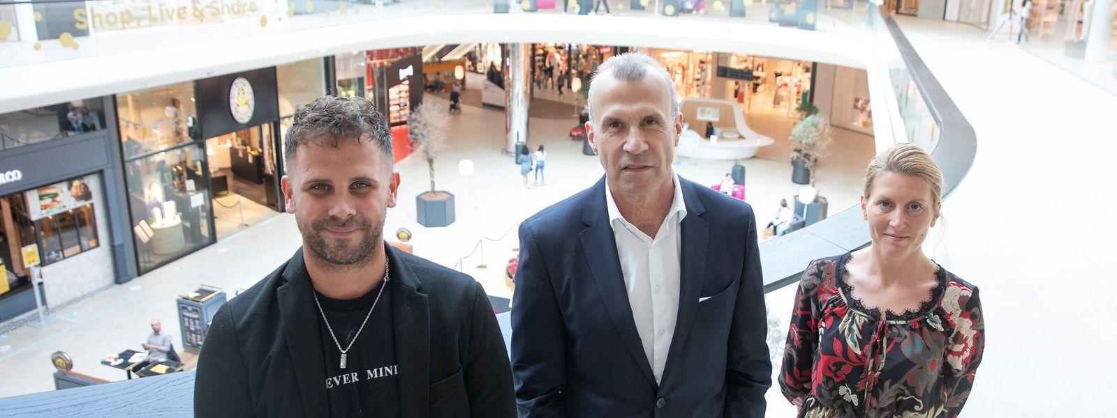 Au centre commercial Cloche d'Or, les commerçants ont créé leur association pour c'est peu dire défendre leurs intérêts.