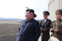 Nordkoreas Diktator Kim Jong-Un soll bei dem Test anwesend gewesen sein. Fotos der nordkoreanischen Presseagentur lassen sich nicht immer verifizieren.