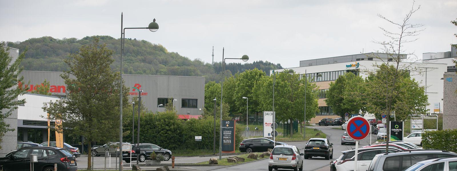 Le projet «Caddy 2» pourrait voir le jour dans le bâtiment industriel qui abrite déjà le drive d'Auchan dans la zone d'activité Munsbach à Schuttrange.