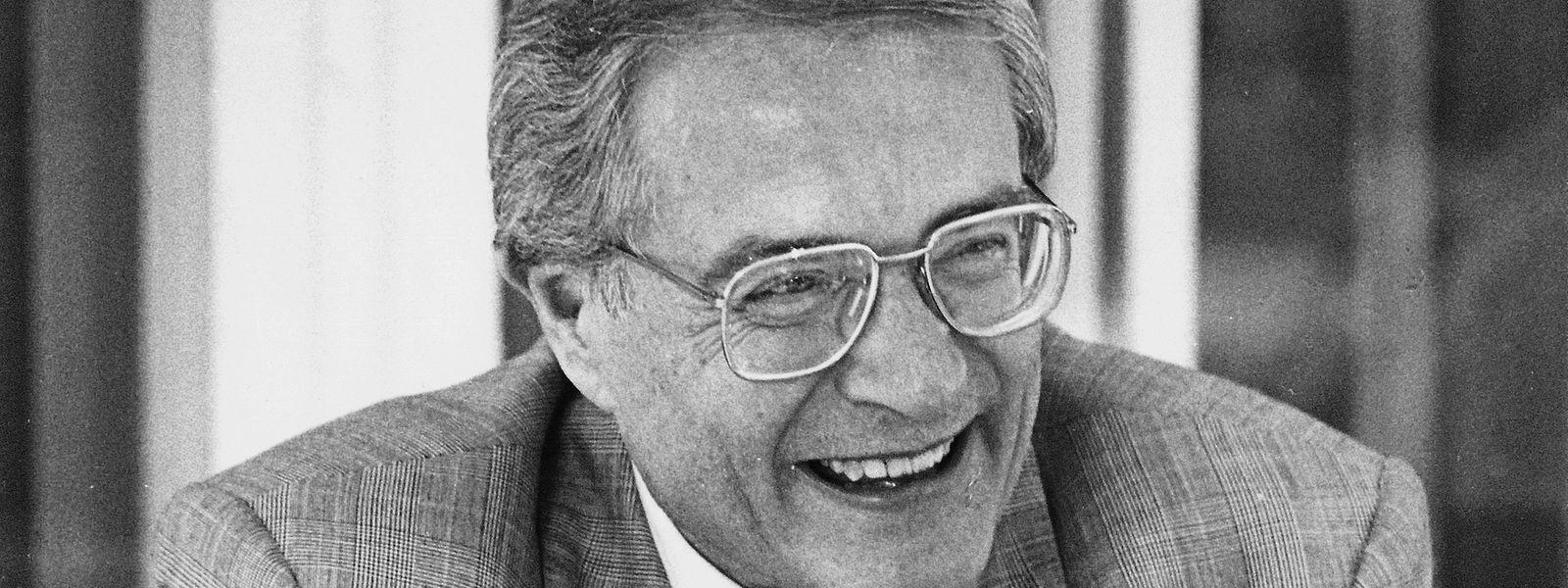 Adrien Meisch im Jahr 1988.