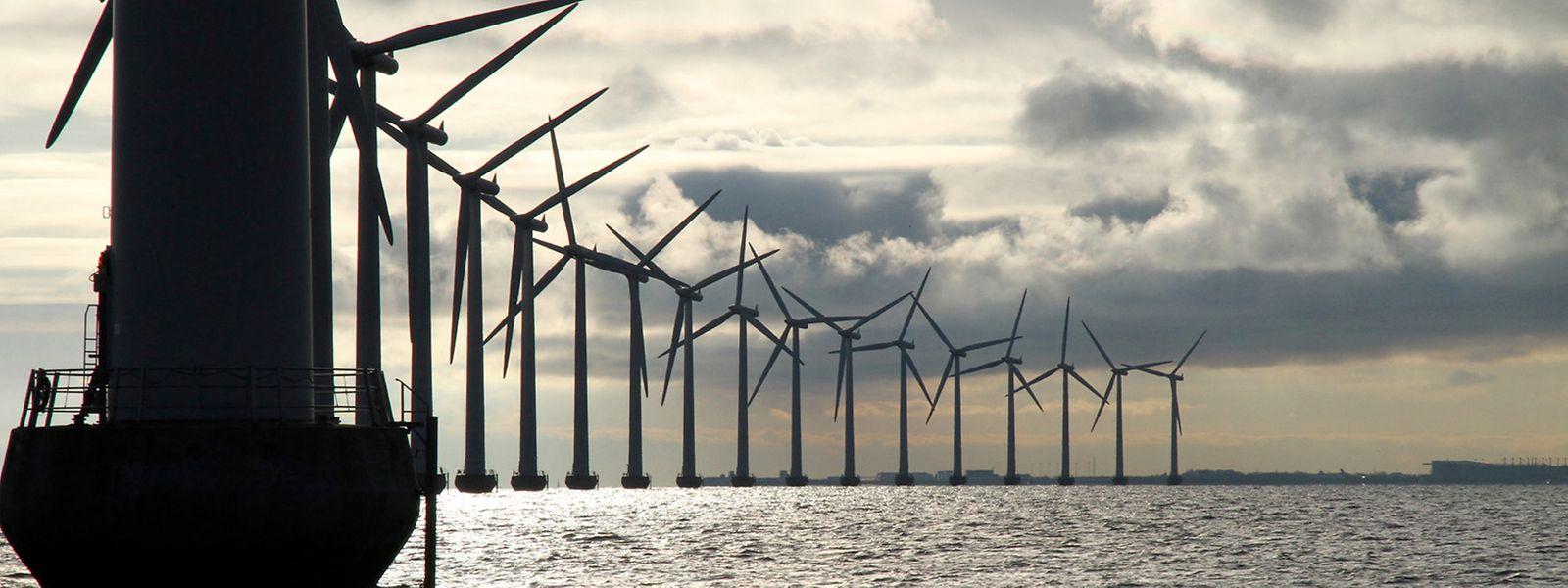 L'Europe mise aussi sur ses sites offshore pour installer ses champs d'éoliennes.