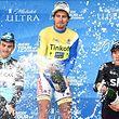 Peter Sagan a enfin répondu aux attentes de ses employeurs, Julian Alaphillippe et Sergio Henao complètent le podium de ce Tour de Californie.