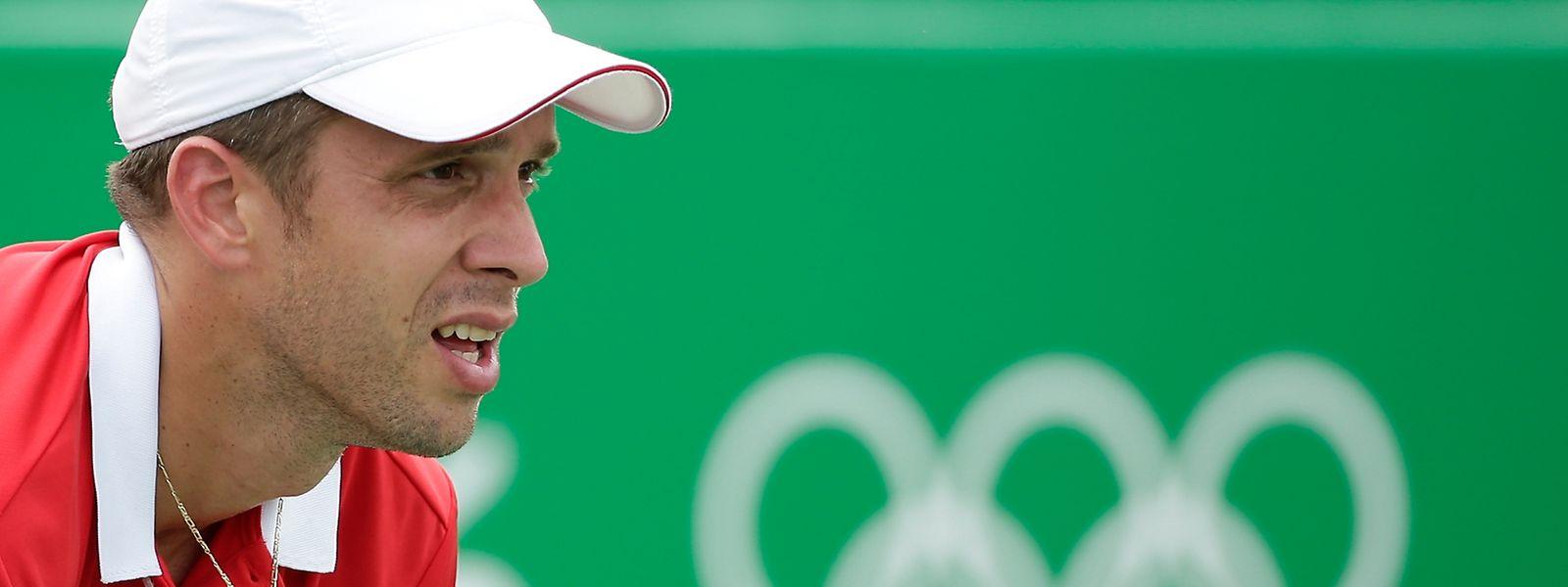 Gilles Muller will gegen Jo-Wilfried Tsonga an die Leistung aus der ersten Runde anknüpfen.