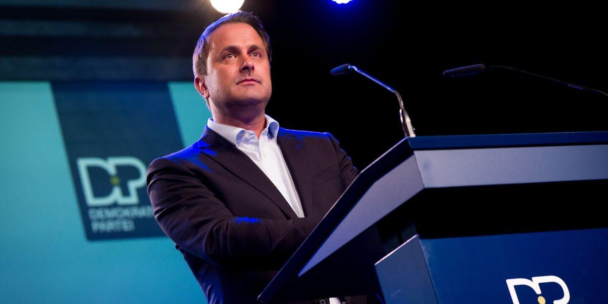 Premierminister Xavier Bettel schwört die Partei auf die Wahlen in den nächsten Jahren ein.